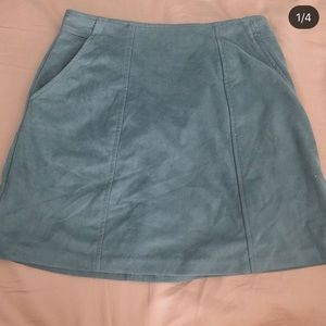 Kendall & Kylie Skirts - blue green